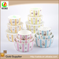 New design personalized eco-friendly ceramic chinese porcelain dessert bowl