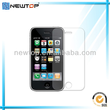 For iphone 3g lcd screen protectors wholesale matte material