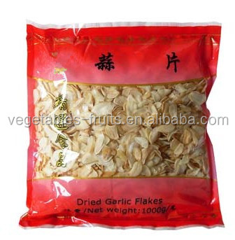 air dried garlic flakes