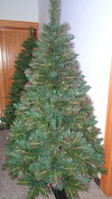 180cm silver tip christmas tree invisible christmas tree