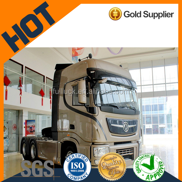 left hand drive reliable high roof 10-wheel tractor