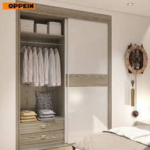 Modern Design Bed Bedroom Furniture MDF Material Double Door Wardrobe