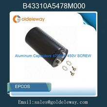 B43310A5478M000 Aluminum Capacitors 4700UF 450V SCREW