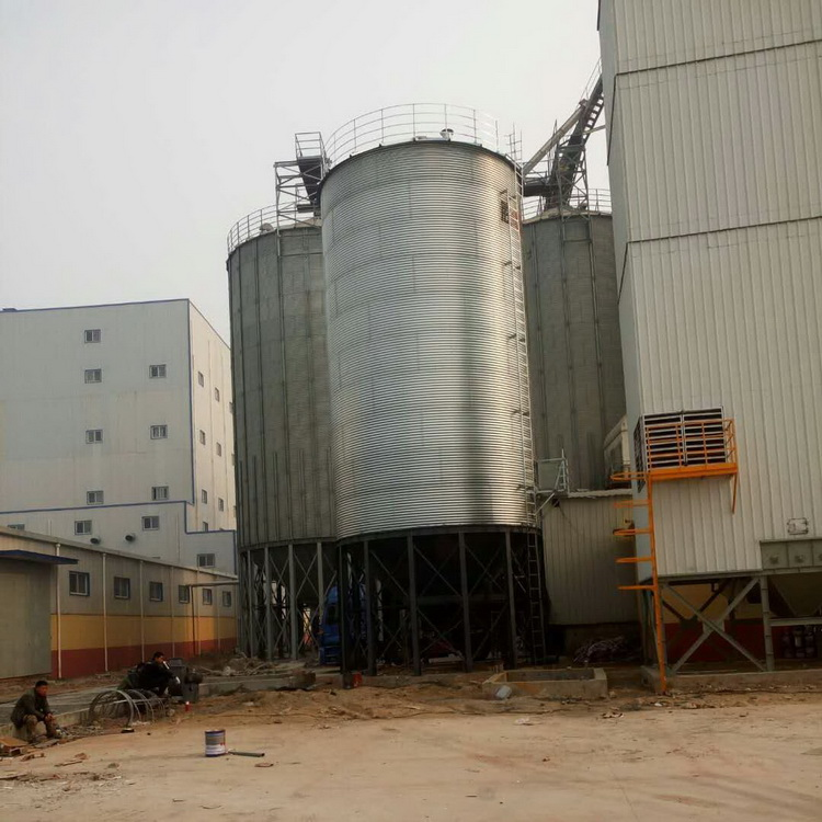 Factory price small steel grain feed silos prices