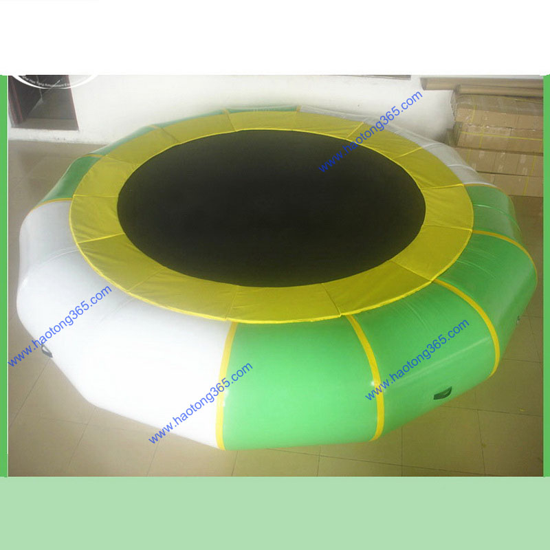 Water Sports Aqua Log water park game inflatable water trampoline for sale