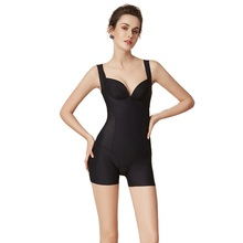 New adult women bodysuit slimming open crotch bodysuit