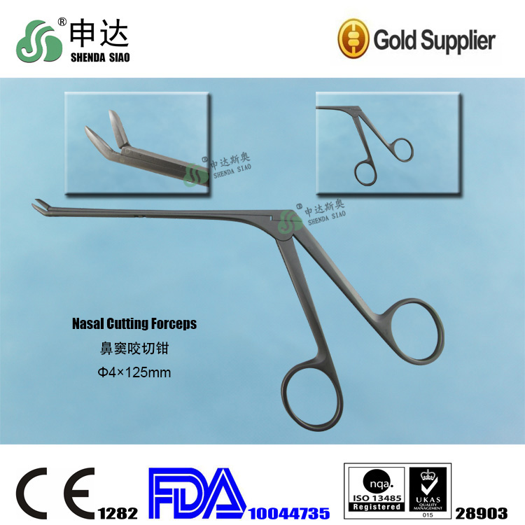 Hangzhou medical device surgical tweezers Nasal Cutting Forceps