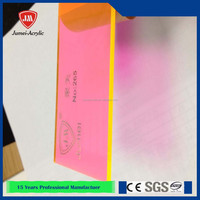 Low price fluorescent acrylic sheet