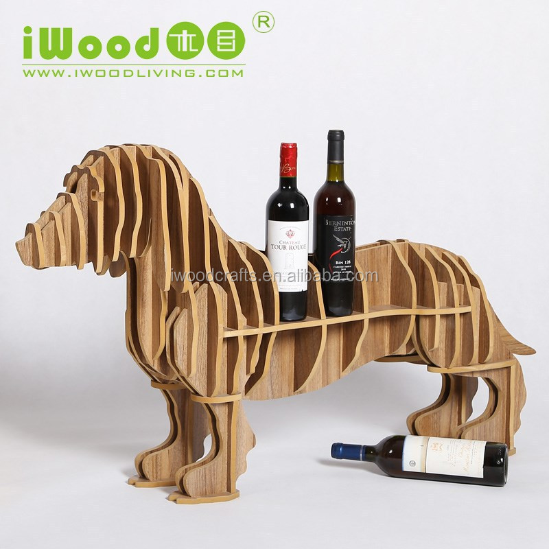Sausage dog mini home bar furniture