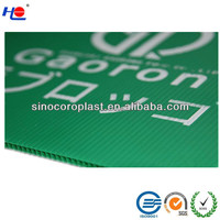 Polypropylene Printed PP Corrugated Sheet