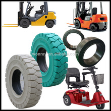 rubber cut puncture resistant forklift tyres