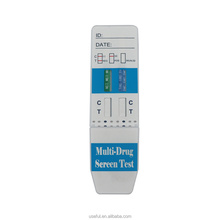 Lab fda certificated high sensitivity instant urine drug test dip