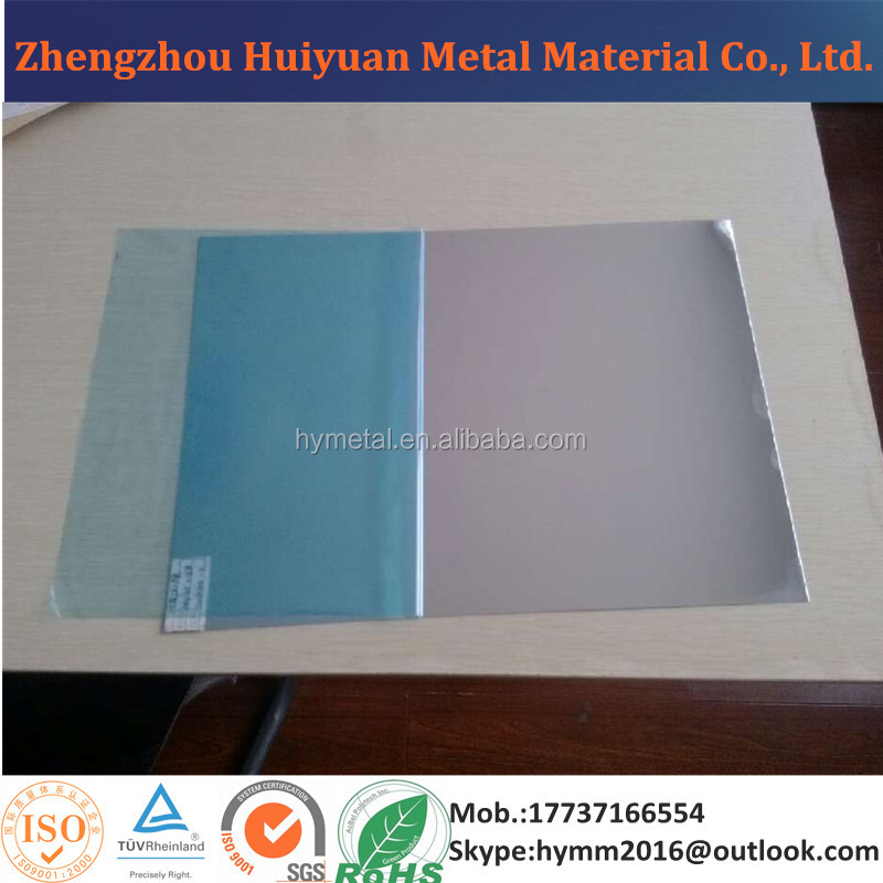 0.3mm Thick Polished Aluminum Mirror Sheet for Reflector