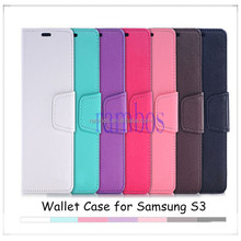 Luxury PU Leather Wallet Flip Phone Case Cover Folio Stand for Samsung Galaxy S3 i9300 /S4 i9500/S5 i9600 /S5 mini/ S5 Active G8