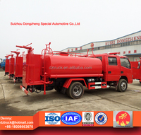 2016 year 100% brand new 5000L 4X2 water tanker fire fighting truck for sale