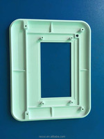 High quality plastic blocks cnc machining service plastic shell/ cover parts/ fabrication