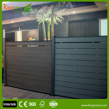 Nice DIY fence panels UV-protected, anti-mildew, anti-freezing and cracking garden Wood plastic composite garden fence