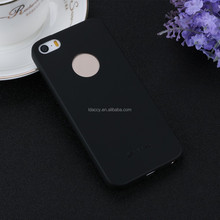 2016 Bright Black Frosted TPU Protective Cover Case for iPhone 5