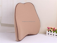 2016 Memory Foam Office Chair lumbar and back support pillow, Car Seat Cushion, low resilience very comfortable