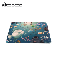 TOP QUALITY China Supplier! Embossed anti slip eco natural latex floor mat