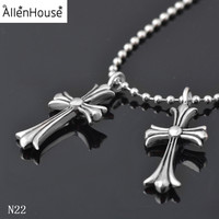 Fashion Accessories Christian Stainless Steel Cross