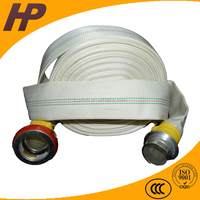 Waterproof fire retardant fabric fire hose