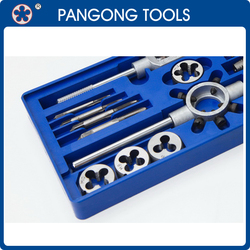 16pc Cutting tools for metal taps and dies