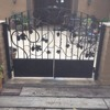 Wrought Iron Gate With Grape