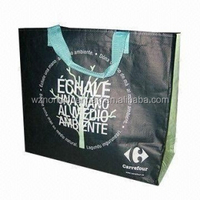 laminated ppwoven shopping bag factory Non-woven,PP Non woven Mate rial and Gift Bag Use Professional non-woven wine bags