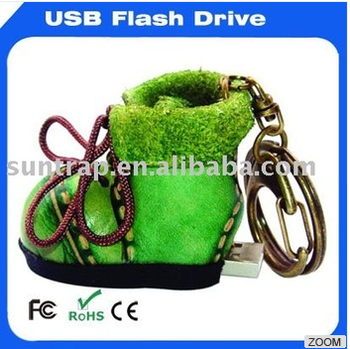 leather usb flash memory as gift