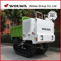 crawler dump truck with 2 ton capacity GN40
