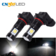 3030smd 6000K White 9145 9140 H10 Led Fog Light Bulb With Led Projector Lens