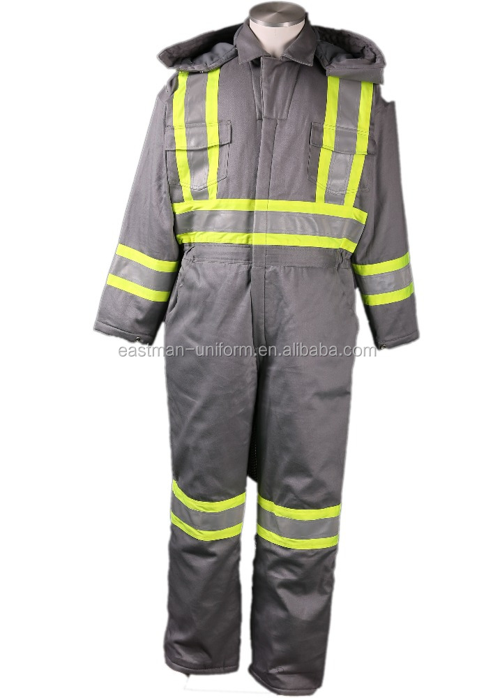 Winter Flame retardant overall / EN11612/11611 FR workwear safety coverall