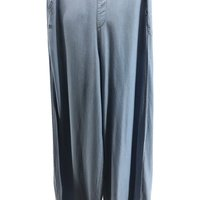 Ladies Denim Trousers Loose Wide Legged