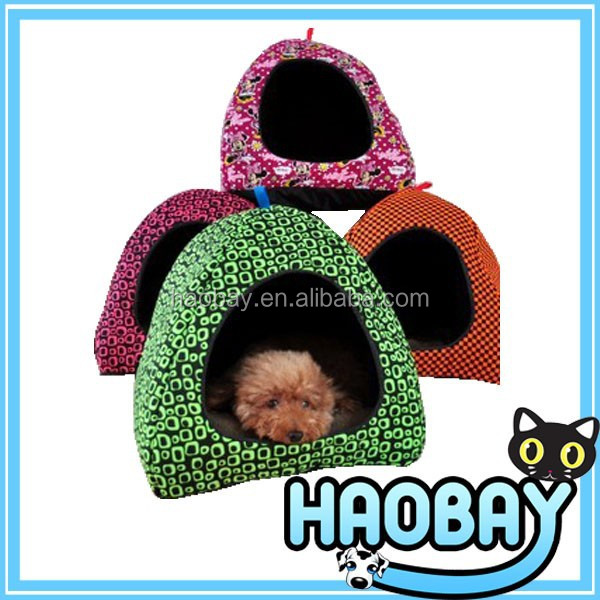 Lovely Soft Cashmere Warm Pet Nest Dog Cat Bed Foldable and different colors