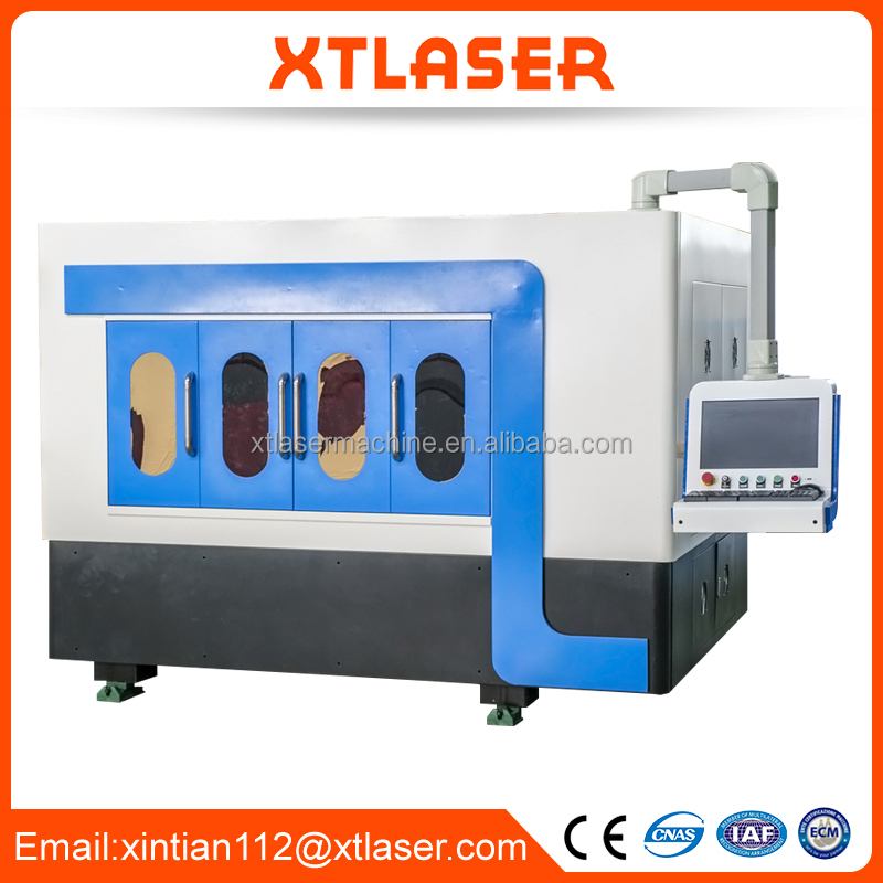 Customized precision 500w 700w cnc fiber laser sheet metal cutting machine