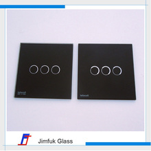 Accept oem/odm tempered wall switch glass panels