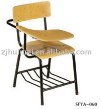 writing tablet chairs school furniture ,classroom desk and chair