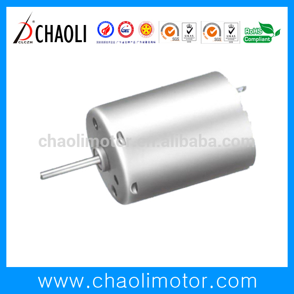 High reliability long service life 12 volt hydraulic pump motor CL-RK370CA for LED flashlight