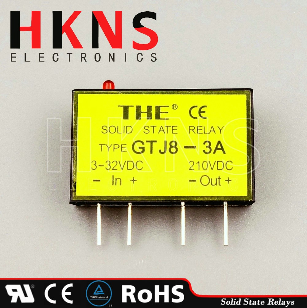 Mini Solid State Relay Ssr 3a Dc To Dcpcb Type Crydom Ul Tuv Wiring Diagram Description