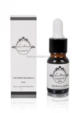 Natural Pure Fragrance Oil Essential Oil with Glass Dropper Bottle