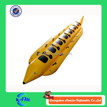 special design 7 person inflatable banana boat for sale