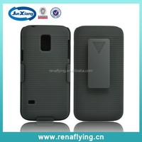 New products clip case for samsung galaxy s5 phone covers kickstand