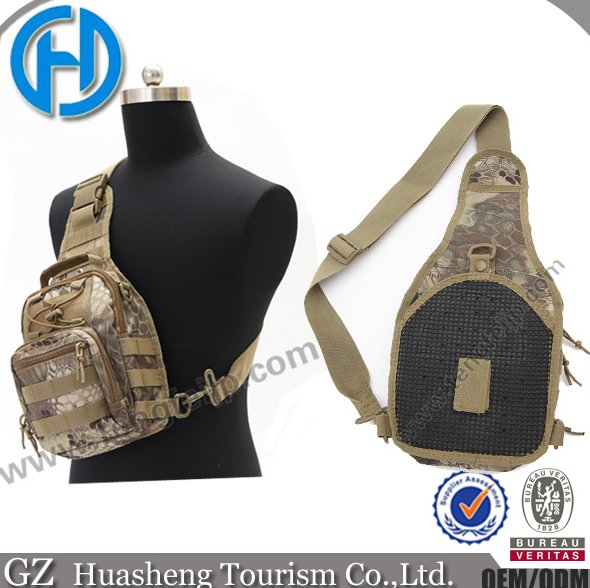 Newest camo outdoor military single shoulder bag