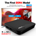 DDR4 3g ram 16g flash memory android 7.1 8 core 64 bit CPU bluetooth 4.0 wholesale android smart tv set top box