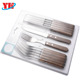 High quality 12 Pcs Steel Steak Knife And Fork Set With Wooden Handle