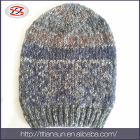 fashion scarf hat knitted women winter hat