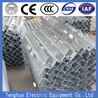 L type angle steel cross arm for adss/ opgw