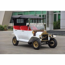CE Approved 5KW retro electric golf trolley classic car vintage