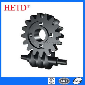 Micro Mini Worm Gear black finished SG5030
